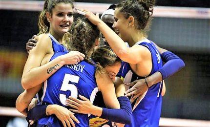 Azzurre vincono ancora: Italia-Azerbaigian 3-0