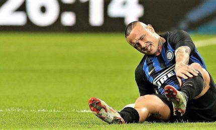 Nainggolan infortunato, salta l'Eintracht e forse il derby
