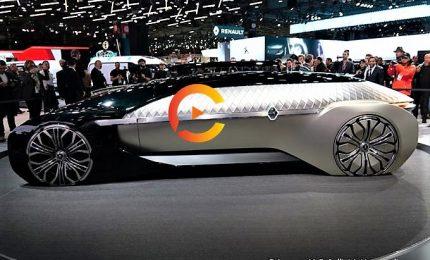 Renault, a Parigi nuova Kadjar e l'auto robot di lusso Ez-Ultimo