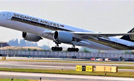 Singapore-New York: al via il volo diretto più lungo al mondo
