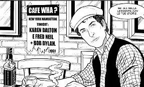 Un biopic a fumetti sulla vita di Bob Dylan