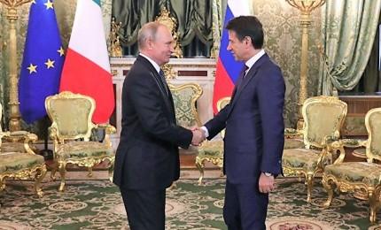 Conte a Mosca, da Putin incassa aperta fiducia su economia italiana