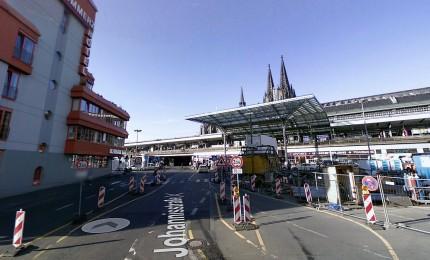 Preso uomo armato in stazione Colonia. L'ostaggio lievemente ferita