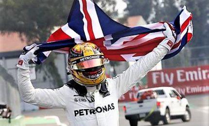 In Messico Hamilton soffre ma è campione del mondo