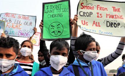 Oms: aria inquinata nel 2016 ha causato morte 600mila bambini