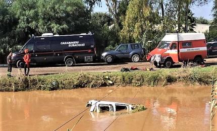 Maltempo, trovata morta la donna dispersa nel Cagliaritano
