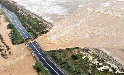Emergenza maltempo in Sardegna, crollato ponte a Capoterra