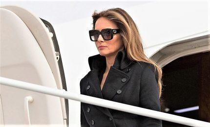 I Trump, Melania impegnata in servizio fotografico durante l'assalto al Campidoglio