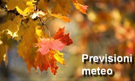 Previsioni meteo per lunedì 22 ottobre 2018