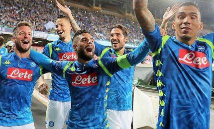 """Impresa Napoli, Insigne stende Liverpool al 90': """"E' bello vincere così"""""""
