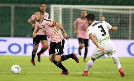 Carpi-Palermo 0-3, i rosanero al secondo posto