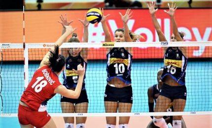 Mondiali donne Serbia-Italia 3-1, azzurre comunque in semifinale