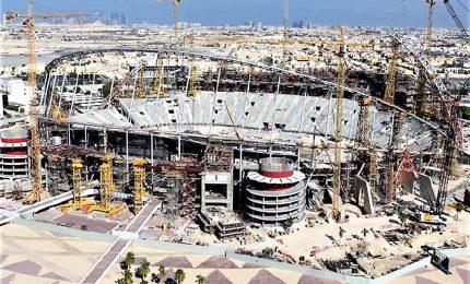 Mondiali calcio in Qatar, stadi già a 60% e si pensa al dopo 2022