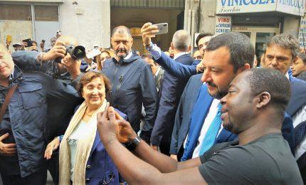 Salvini a Napoli: obiettivo zero migranti richiedenti asilo