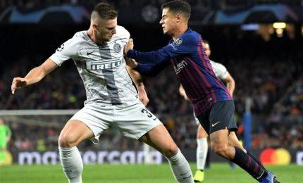Troppo Barcellona anche senza Messi, Inter cade al Camp Nou. Spalletti: mi aspettavo conferme