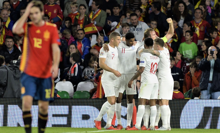 Nations League, l'Inghilterra stende la Spagna 3-2 in trasferta