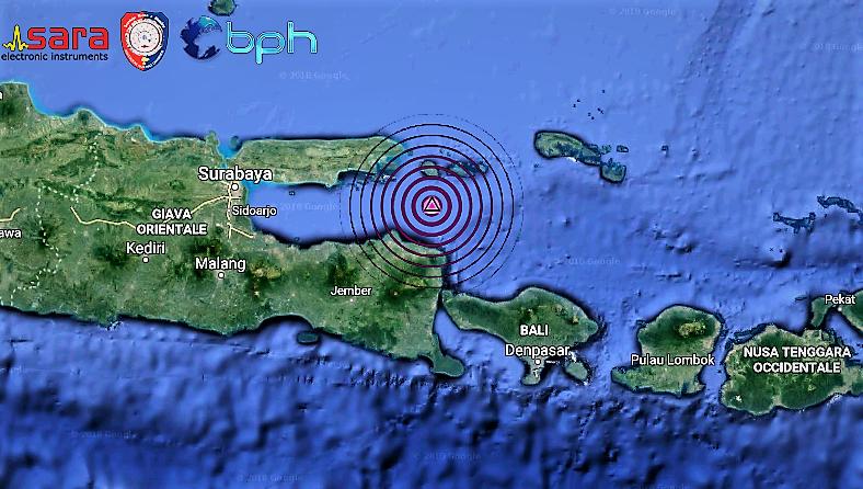 Indonesia: terremoto magnitudo 6.0 al largo dell'isola di Bali