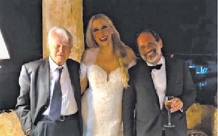 Ingroia rottamato dalla politica si consola col matrimonio