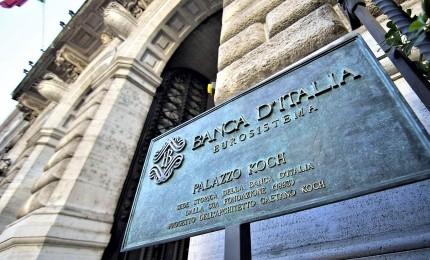 """La Banca d'Italia taglia le stime di crescita. Occupazione """"contenuta"""", aumentano prezzi al comumo"""