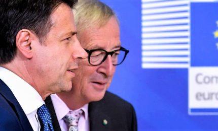 """Manovra, Conte fiducioso: """"Clima buono"""". Juncker: """"No guerra con l'Italia"""""""