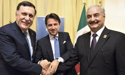 """Conte riapre dialogo Sarraj-Haftar: """"Lavoriamo per tutti i libici"""""""