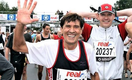 Anche Gianni Morandi alla maratona di New York