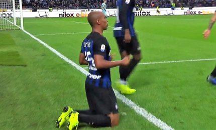 Manita al Genoa, Inter carica per il Barcellona
