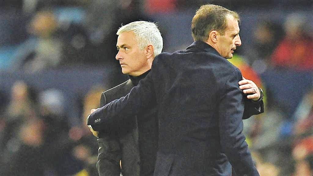 "Allegri: ""Il ko ci fara' bene"". E Mourinho provoca"
