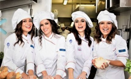 """""""Belle Ripiene"""", al Sistina di Roma risate in cucina con 4 donne"""