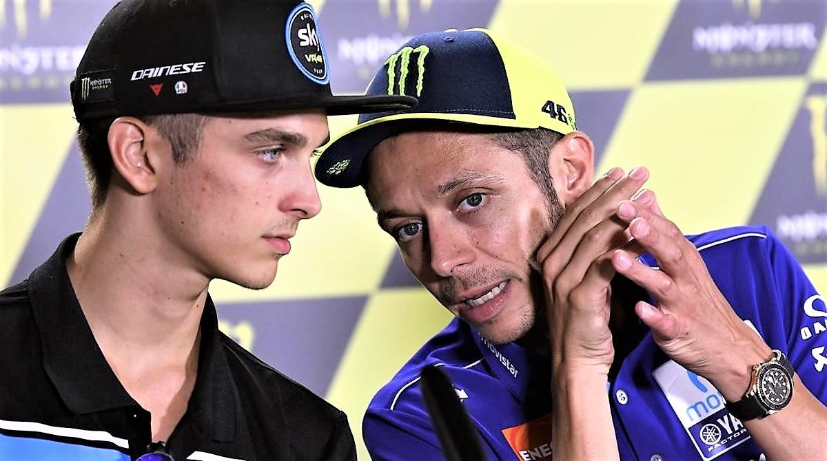 """Rossi: """"Un peccato, la miglior gara della stagione"""". Ma in Moto2 vince il fratello"""