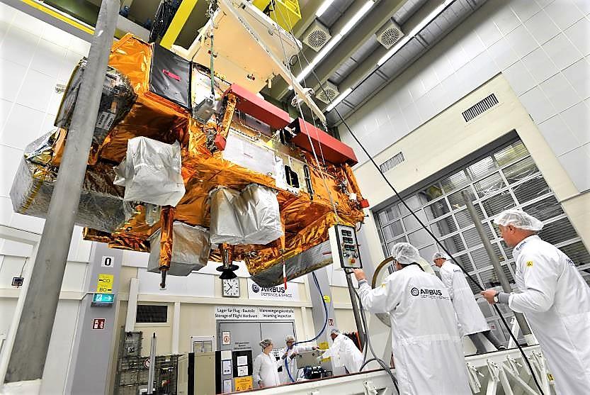 Pronto al lancio MetOp-C, satellite meteorologico europeo