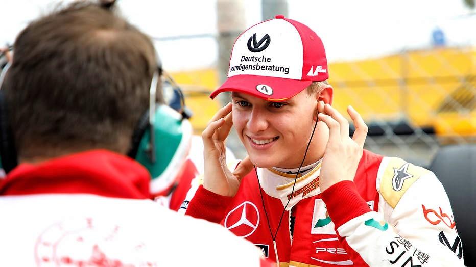 F2, primi test per Mick Schumacher:
