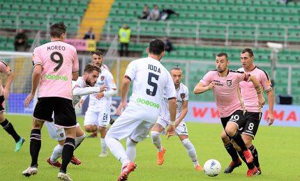 Palermo-Cosenza 2-1, e i rosanero raggiungono la vetta
