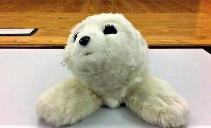 Paro, la foca robot giapponese che allevia depressione e demenza