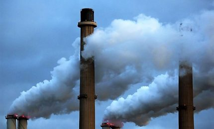 Allarme Onu: nuovo recordo storico per emissioni gas serra