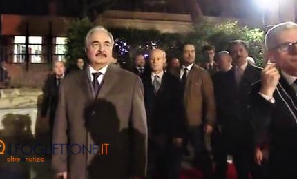"""Haftar a Palermo, il generale al vertice di Conte """"per i libici"""""""