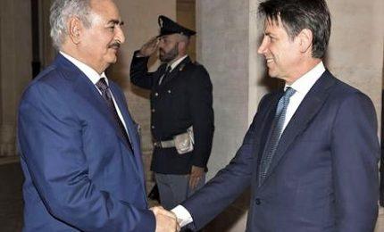 Haftar da Conte, il maresciallo punta a guidare nuovo esercito Libia