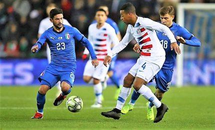 Italia sortilegio-gol, al 94' saluta 2018 con vittoria