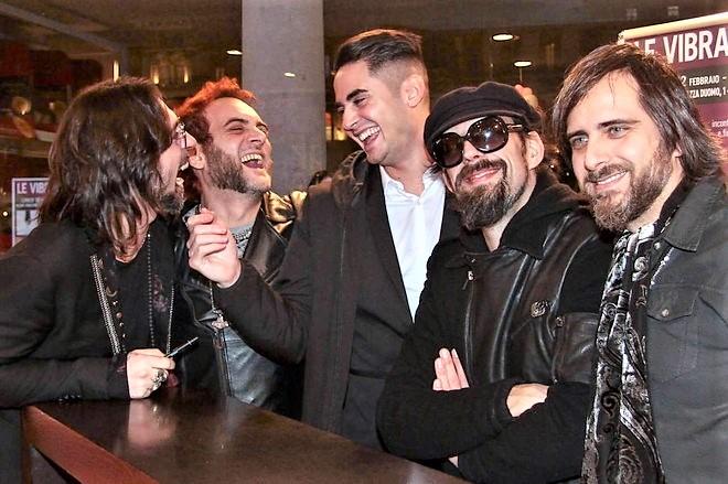 Dopo il ritorno al Festival di Sanremo, Le Vibrazioni tornano in concerto