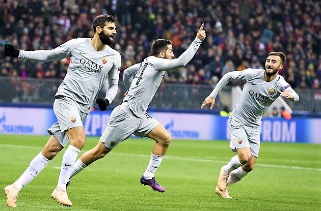 """Champions, la Roma vince a Mosca e """"vede"""" gli ottavi"""