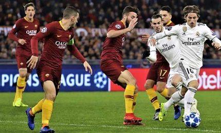 Roma-Real Madrid 0-2, entrambe passano agli ottavi