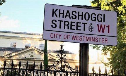 Strada di Londra intitolata al giornalista Khasghoggi