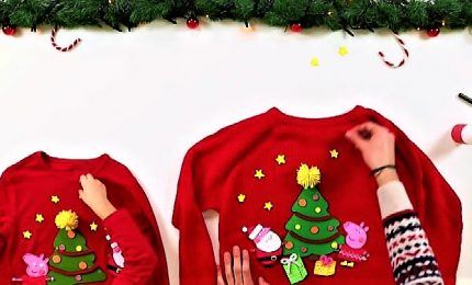 Peppa Pig sostiene il Christmas jumper day di Save the Children