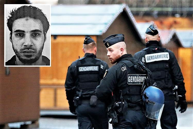 Strasburgo, prosegue la caccia all'uomo. Killer forse in Germania