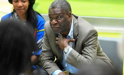 Il premio Nobel Mukwege torna a casa nella Repubblica del Congo