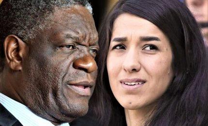 Nobel pace lanciano Sos per le vittime delle violenze sessuali
