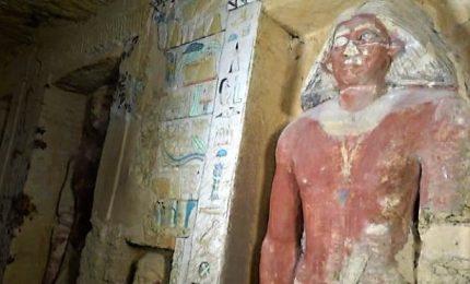 Egitto, scoperta tomba di 4.400 anni fa a Saqqara