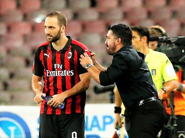 """Gattuso: """"Higuain? Vinciamo e poi vediamo"""""""
