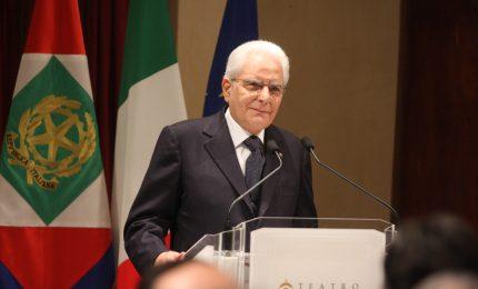 """Mattarella: """"Palermo capitale della cultura faro Paese, sfida vinta"""""""