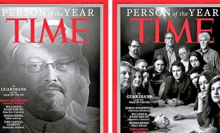 Time: Khashoggi personalità dell'anno con altri reporter